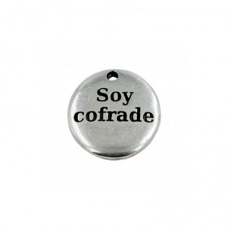 "Colgante frase ""Soy cofrade"""