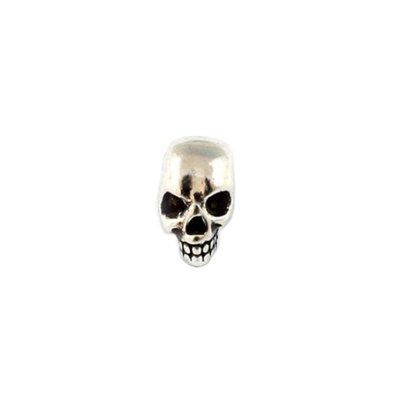 Account skull zamak and silver for making bracelets