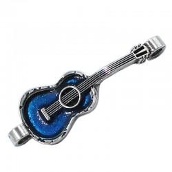 Guitarra de zamak con esmalte
