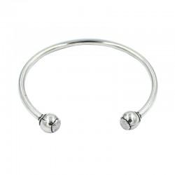 Bracelet with open balls