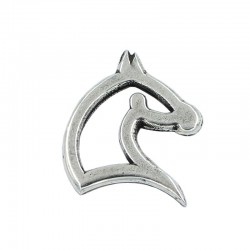 Trinket zamak silhouette horse without rings