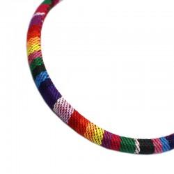 Cordón de tela de colores