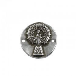 Conector para pulseras Virgen del Pilar