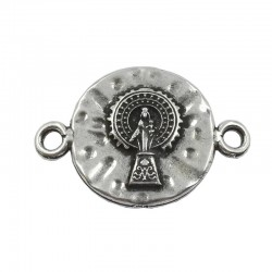Connecteur de bracelet Vierge du Pilar