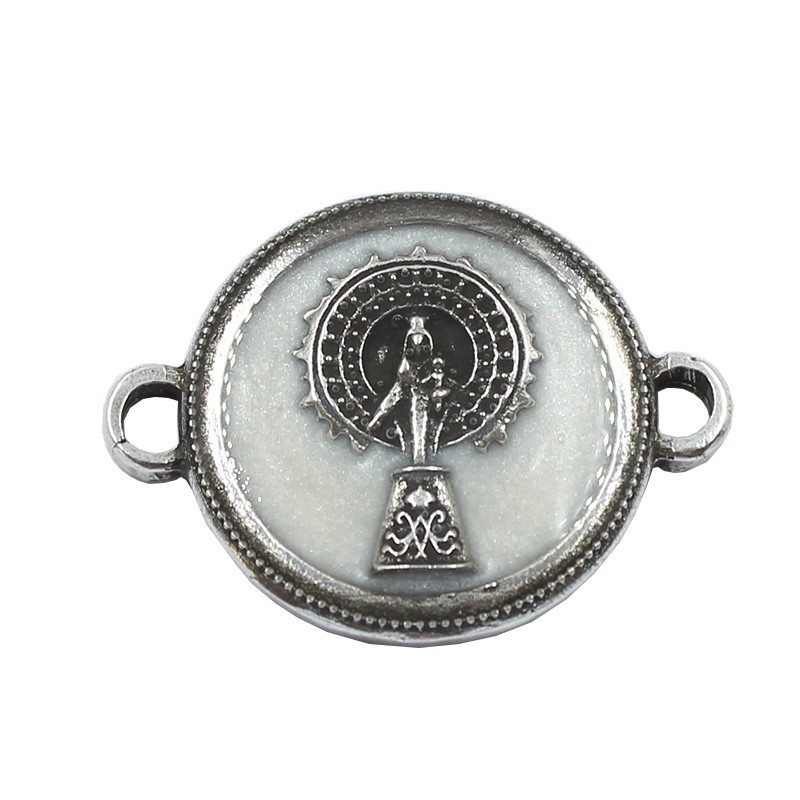 Conector con esmalte Virgen del Pilar