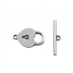 Cœur de verrouillage avec clé