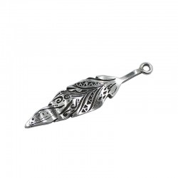 Pendant feather boho