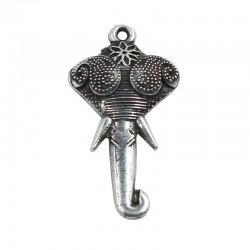 Colgante cabeza de elefante