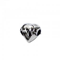Corazón para pulseras tipo Pandora