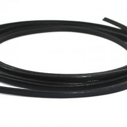 Les bracelets en cuir noir