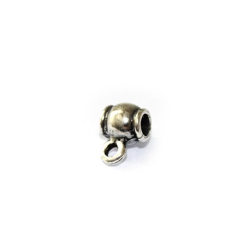 Portacolgantes de zamak y plata para colgantes y pulseras