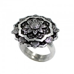 Flower ring mandala