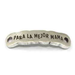 "Chapa zamak ""para la mejor mama"""