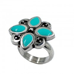 Adjustable ring petals