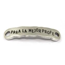"Plate zamak ""the best prof"""