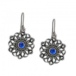 Earrings type mandala of...