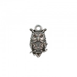 Charms hibou de la chance