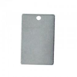 Smooth metal sheet of steel