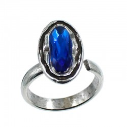 Ring oval stone