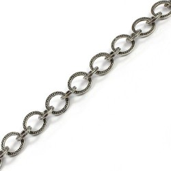 Chain link round of two measures