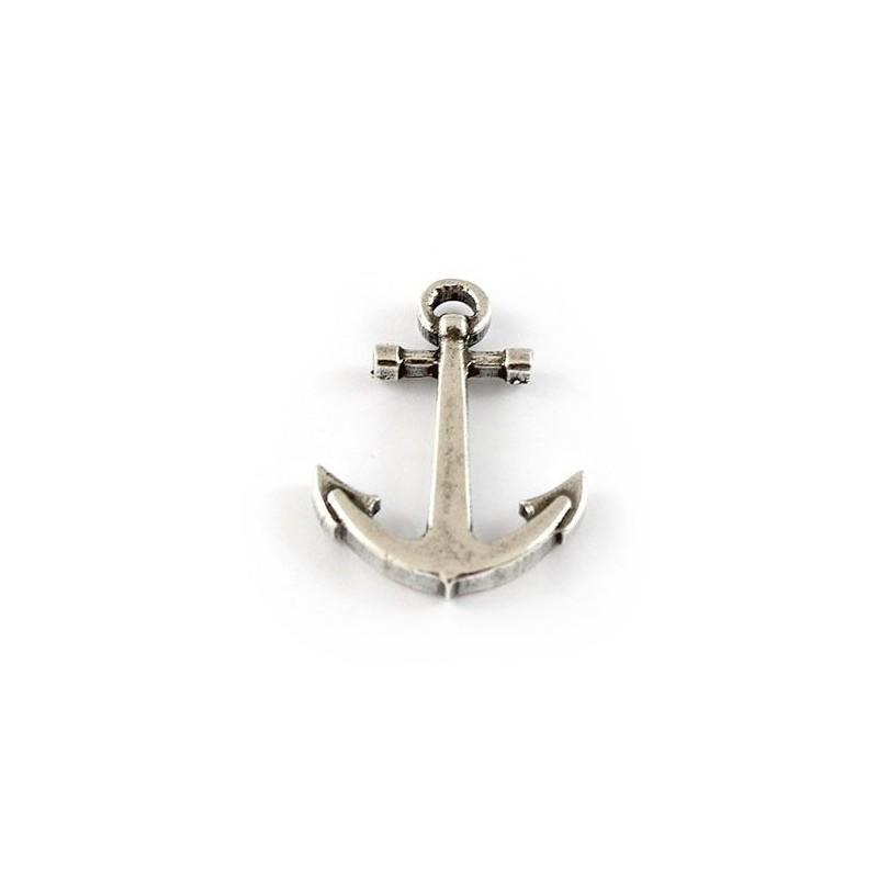 Pendant anchor zamak and silver