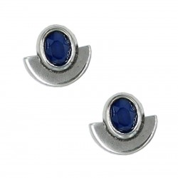Earrings Cush crescent