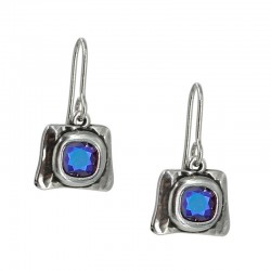 Earrings with stone Rivoli