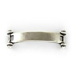 Plaque de bijou lisse ara bracelets en cuir