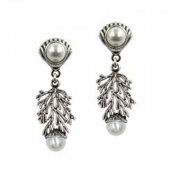Pendientes de dos perlas...