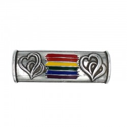 Spacer with the LGTBI symbol