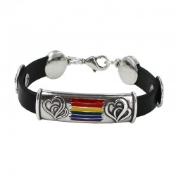 Bracelet with the LGTBI flag
