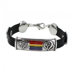 Bracelet with the LGTBI flag