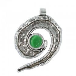 Large Spiral Shell Pendant