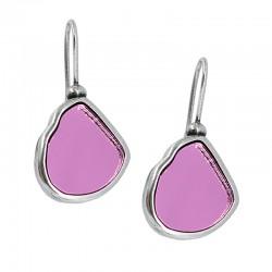 Single crystal earrings