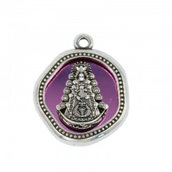 Virgin of Rocio pendant in...