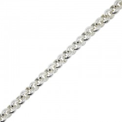 Rolo 6mm thick chain