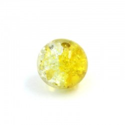 Ball resin two-tone yellow