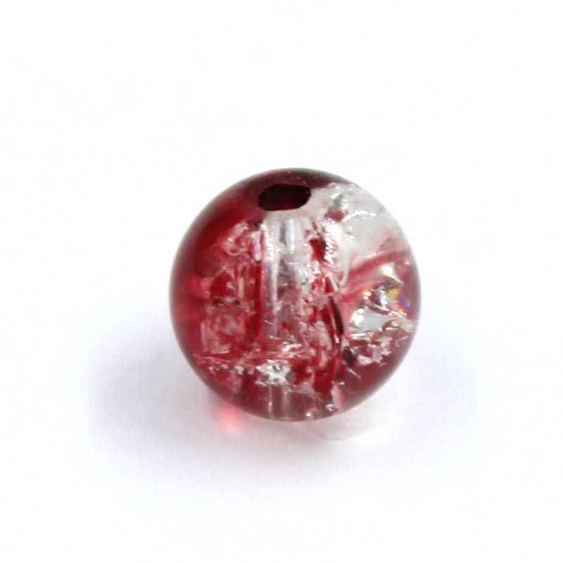 Ball resin two-tone red