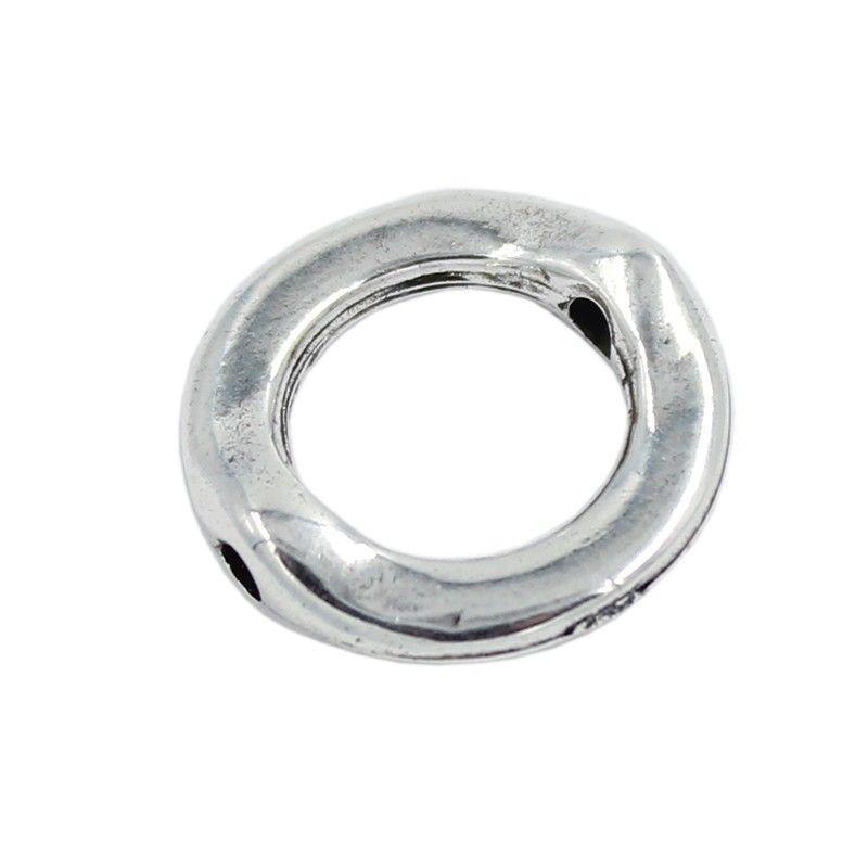 Washer cotter pin of zamak and silver