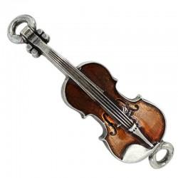 Bijou violon zamak couleur