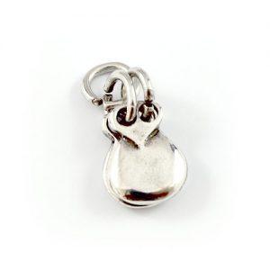 charms castañuelas en plata