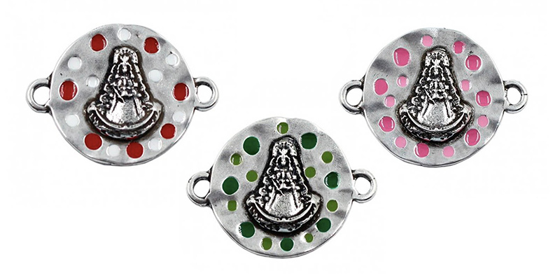Conectores con colores d la Virgen del Rocío
